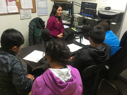 Health Media Club Radio Tierra visit