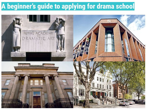 A beginner's guide to applying for drama school