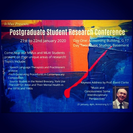 ICMUS Postgraduate Student Research Conference.