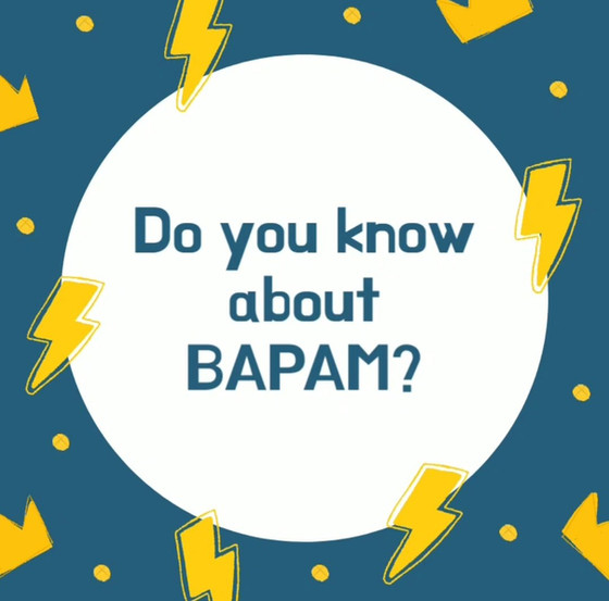 I'm a BAPAM Registered Practitioner!