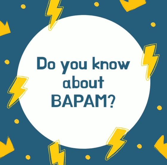 I'm a BAPAM Registered Practitioner!