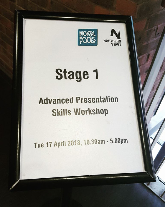 Advanced Presentation Skills Workshop at Northern Stage