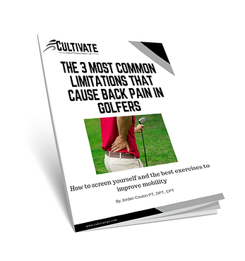 Back Pain & Golf, Golf Training Midand