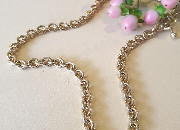 14krt geelgouden BRON collier
