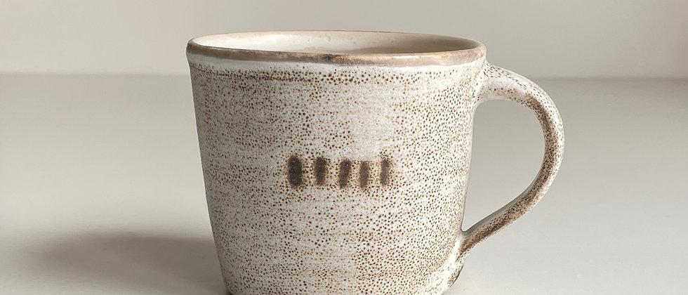 Mug White Dots-260ml
