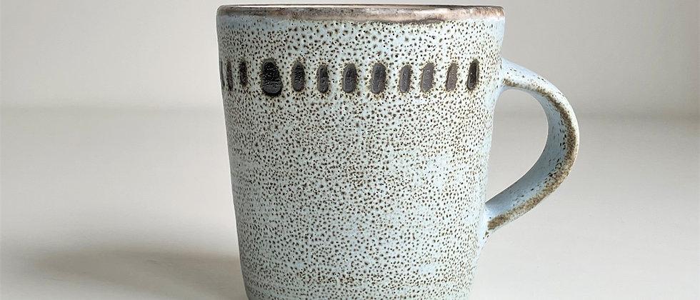 Mug Blue Dots - Big 350ml