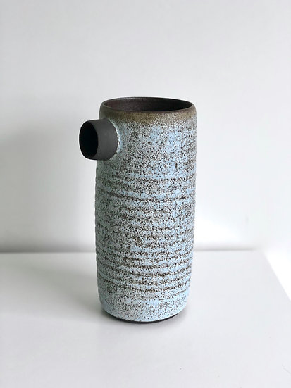 "Large Ceramic Vessel ""Solines"" series - Blue"