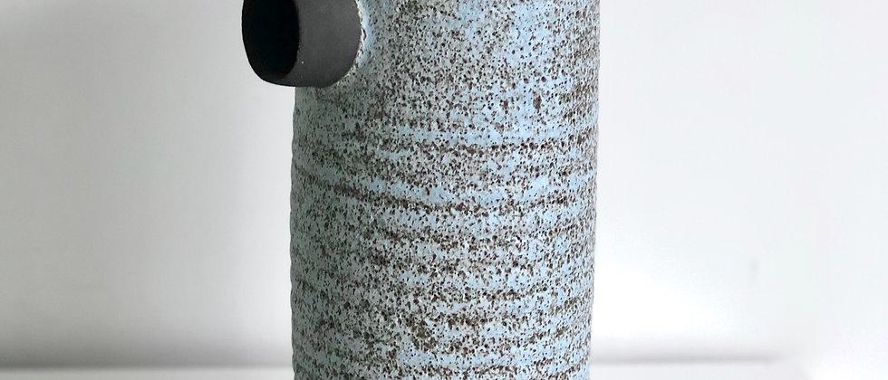 "Large Ceramic Vessel ""Solines"" series - Blue"