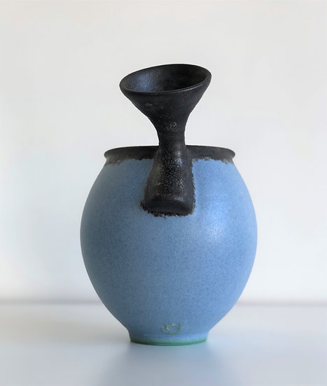 Handled Vessel-Blue Large