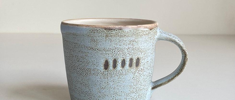 Mug Blue Dots - 260ml