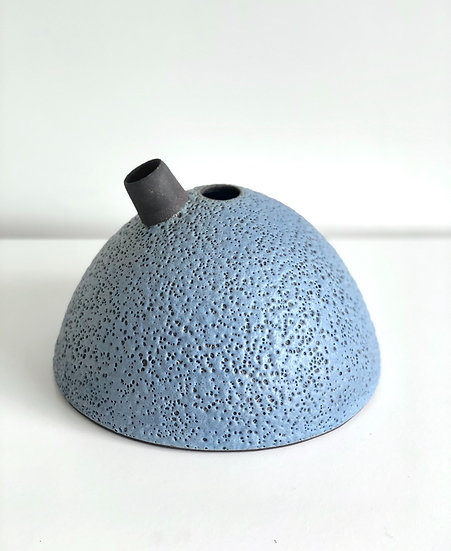 "Ceramic Vessel ""Nests"" Series - Blue Large"