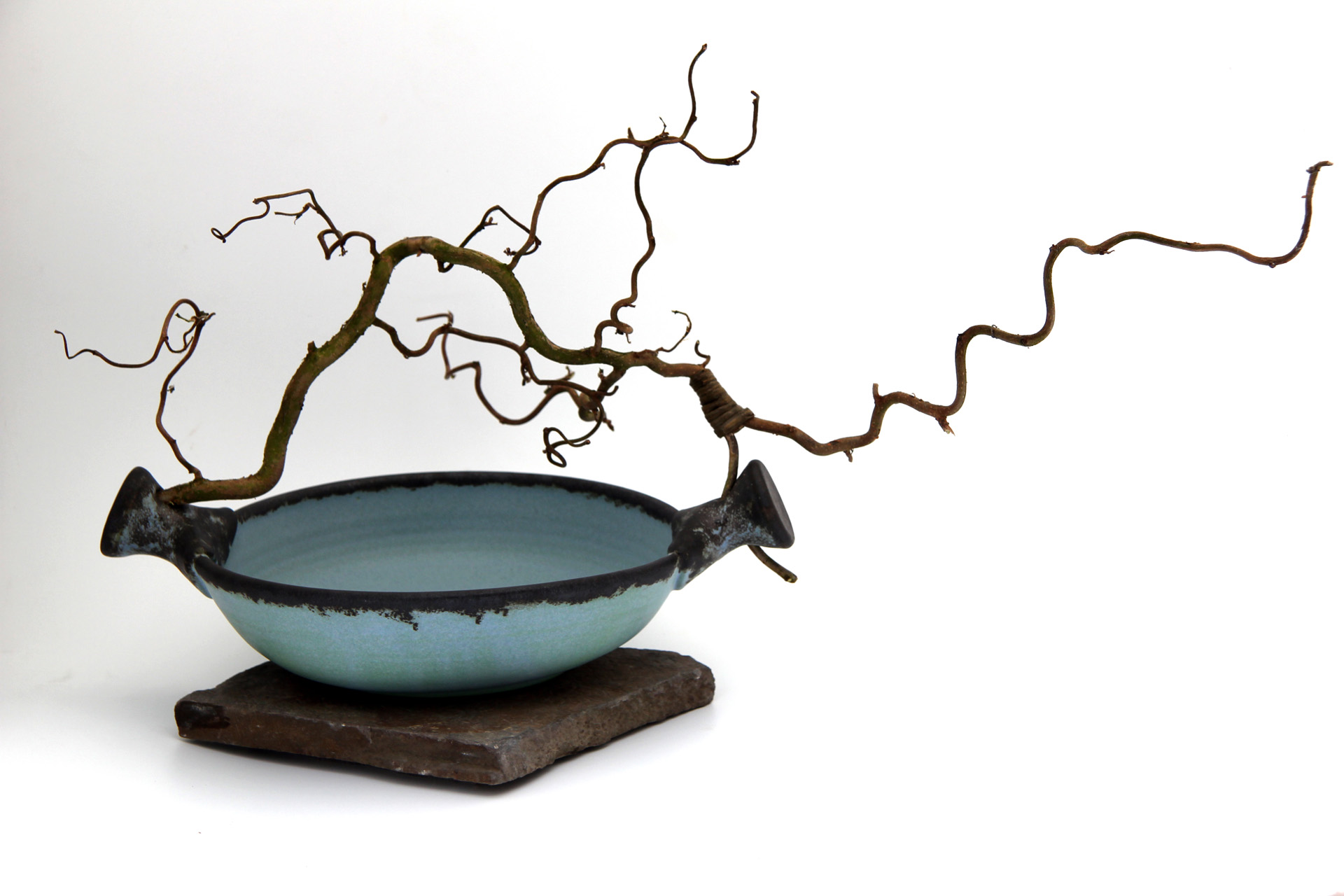 Bowl Twisted Branch - Stone