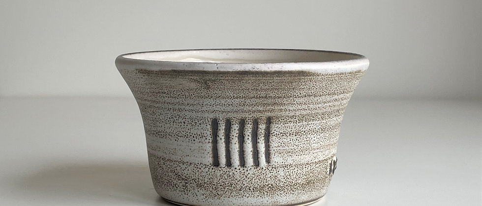 Bowl Large Sand With Lines
