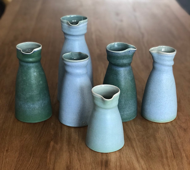 Jugs Blue and Green