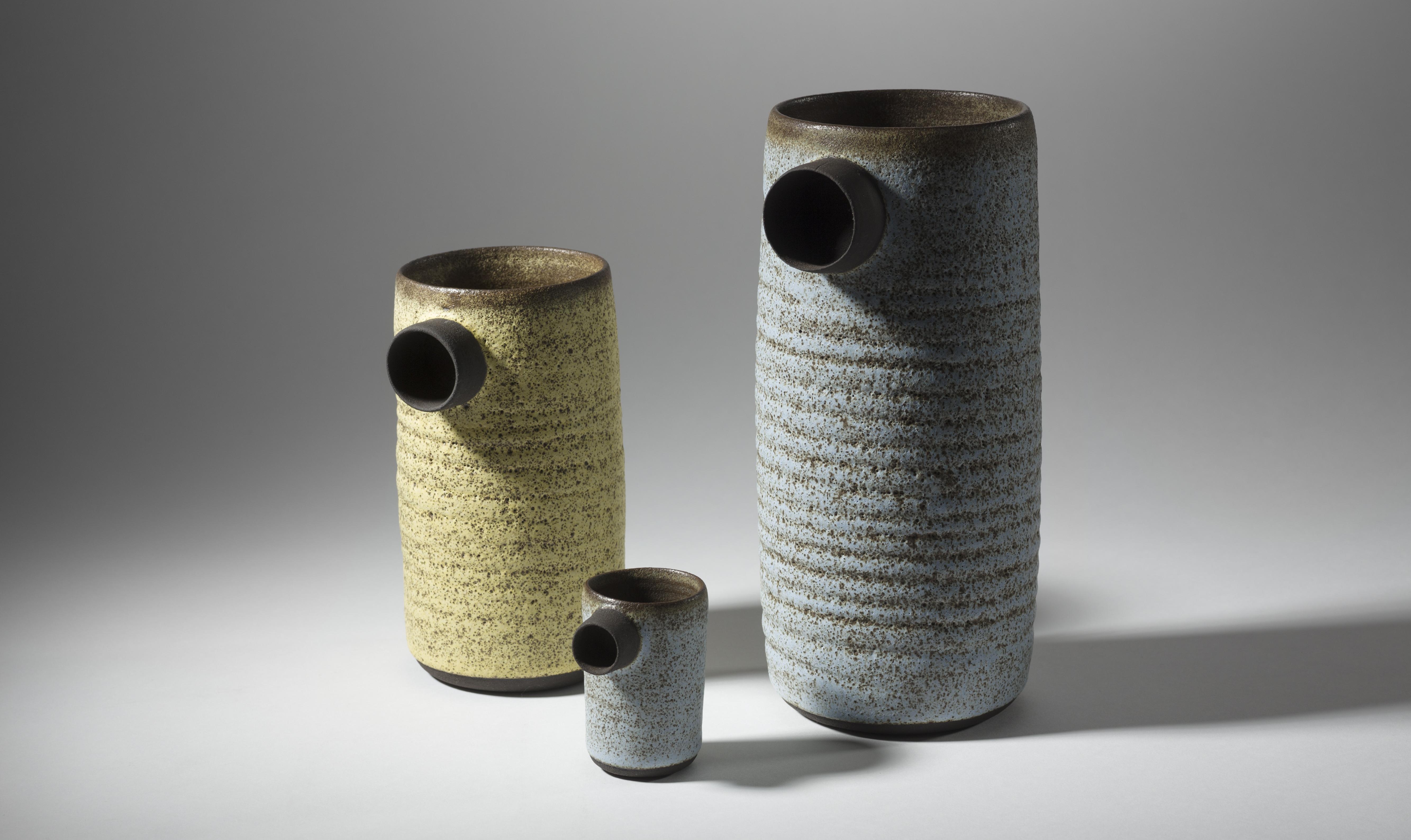 Solines, Black Clay, Bubbly Glaze, 2015