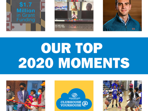 BGCMB's Top Moments of 2020