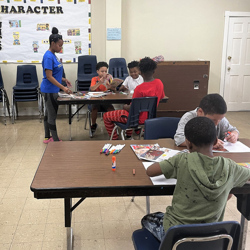 Collaboration with The Door Brings Enriching After-School Program to East Baltimore