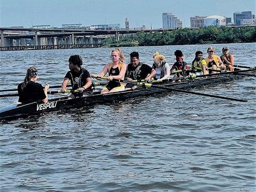 Youth Learn the Importance of Teamwork Through Baltimore Community Rowing