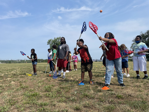 Collaboration with USA Lacrosse Introduces Club Kids to a New Sport