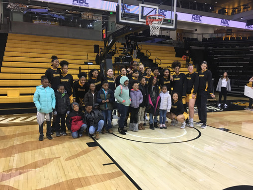 Members Given One-of-a-Kind Experience by Towson University Women's Basketball & SECU