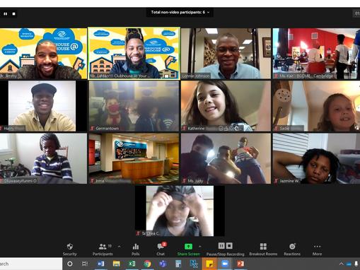 Dr. Lonnie Johnson Wows Maryland Club Kids During Virtual STEM Class