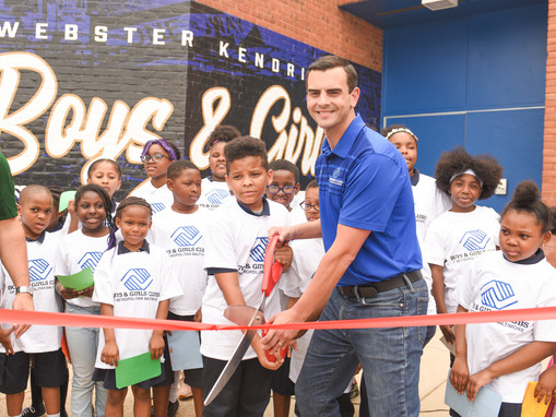 Baltimore Ravens and M&T Bank Bring New Energy to Webster Kendrick Club