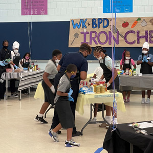 BPD Officers Team Up with Club Kids in Iron Chef Competition