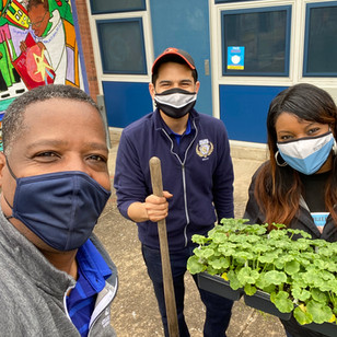 BGCMB Collaborates with Callaway Elementary School #251 for Greening Project