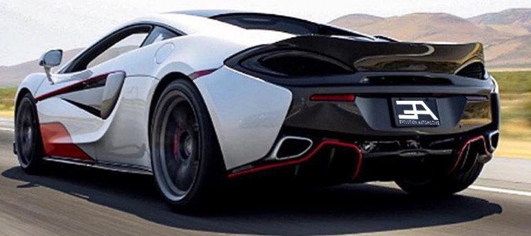 570S, 570GT & 540C Carbon Rear Spoiler