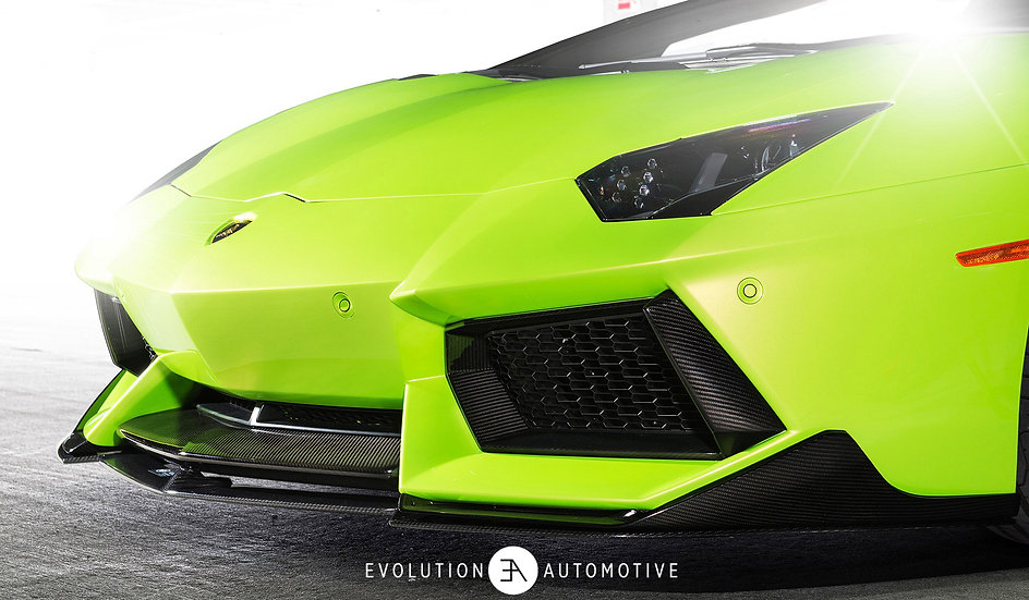 Aventador V Series Carbon Race Splitter