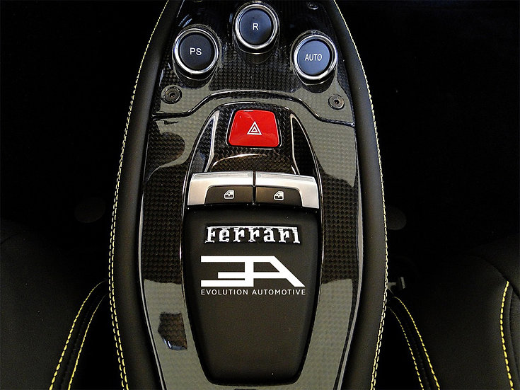 Ferrari 458 Carbon Console 2 piece set