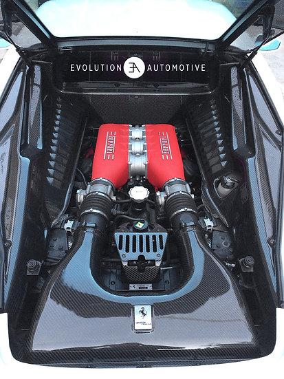 458 Carbon Fiber Engine Bay Panels