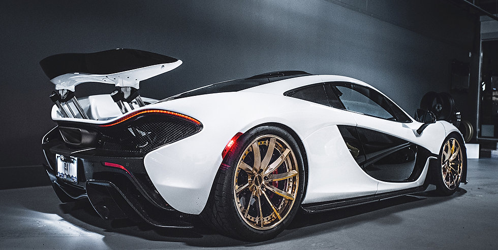 Pur custom forged wheels for McLaren