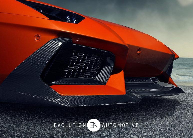 Aventador Zaragoza Carbon Front Spoiler