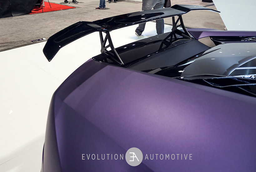Huracan Nero Carbon Aero Wing & Uprights