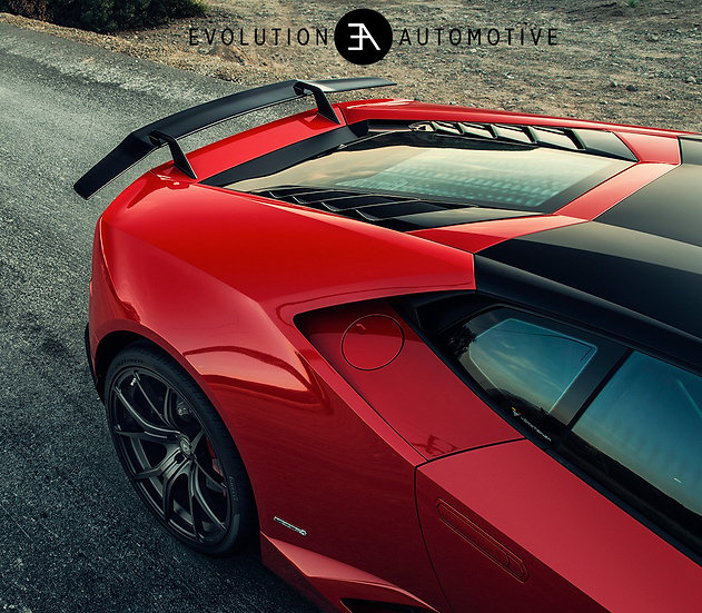 Huracan Edizione Carbon Wing with Uprights
