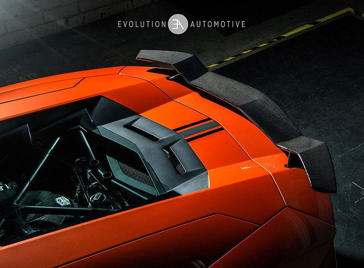 Aventador V Series Carb Active Aero Wing with Base