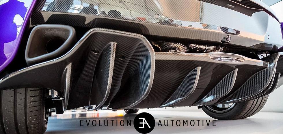 McLaren 570S, 570GT, 540C Carbon Rear Diffuser