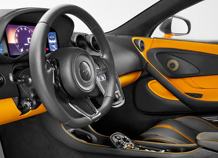 570S, 570GT & 540C Carbon Fiber Interior Pack