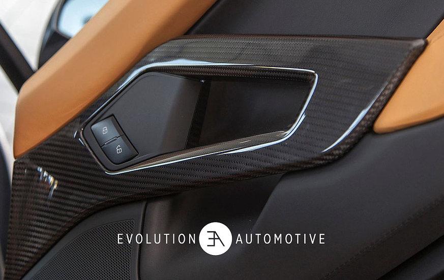 Aventador  Carbon Fiber Door Handles/Pulls