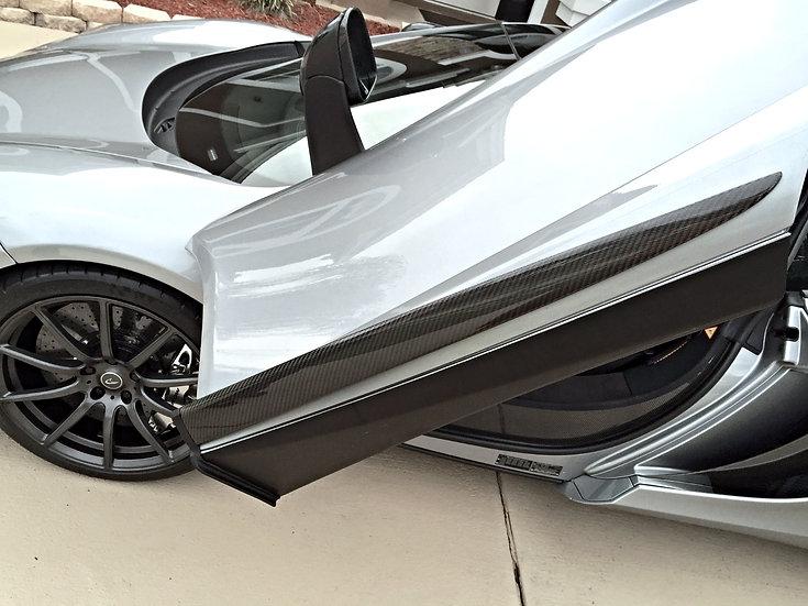 650S Carbon Fiber Side Blades