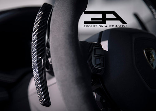 Huracan Carbon Paddle Shifters