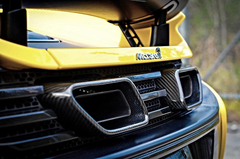 MP4-12C 650s Carbon Fiber Exhaust Surround