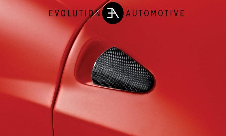 458 Carbon door handles
