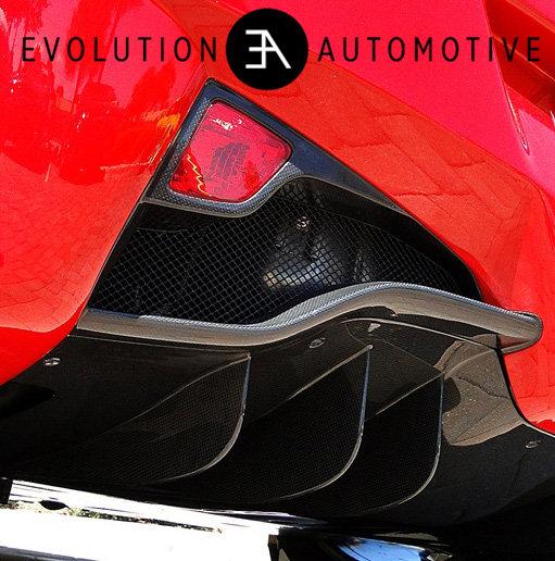 458 Italia Carbon Fiber Diffuser
