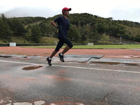 36 k moderate run, 5 weeks remain till the Osaka Marathon!