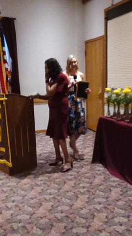 Honoring Outgoing President Helen Hester Ross