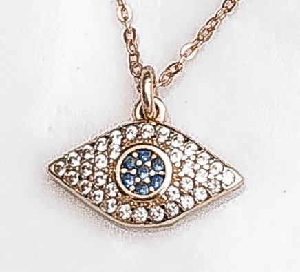 Anna Traditional Evil Eye Necklace