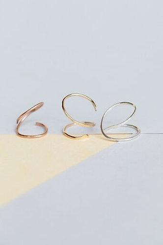 Ava Swirl Ring