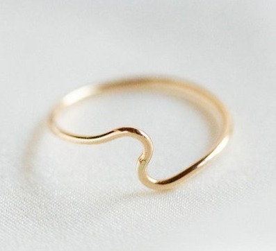 Dawn Wave Ring